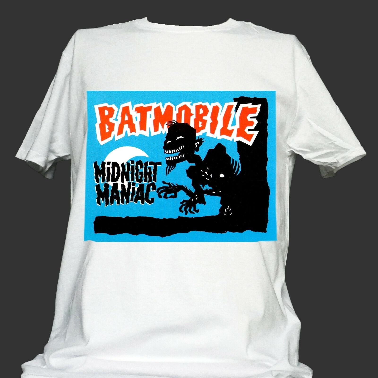 Бэтмобиль PSYCHOBILLY футболка mad sin meteors guana batz унисекс S-3XL (1)