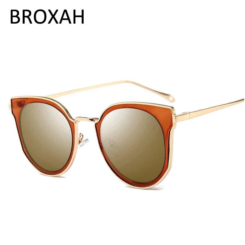 Круглые Солнцезащитные очки в стиле ретро, женские брендовые дизайнерские овальные линзы, роскошные солнцезащитные очки, модные женские оч...