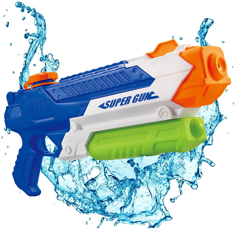 Водяные Пистолеты, игрушки для игр, Водяные Пистолеты высокого давления, водяной разбрызгиватель, пистолет для детей, подростков, уличный б...