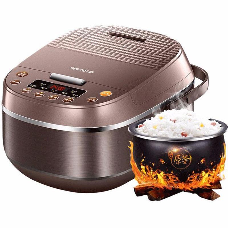 Joyoung ذكي جهاز طهي الأرز باخرة 4L المنزل البخار موعد طباخ كهربائي وعاء داخلي يغلي عصيدة سعة كبيرة 8 أكواب
