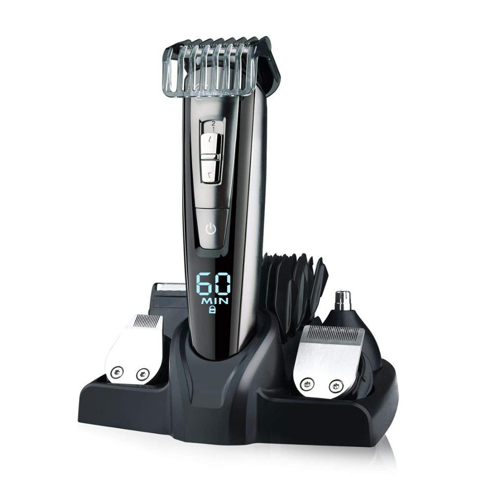 Men Hair Cutting All In One Wet Dry Hair Trimmer Beard Grooming Trimer Facial Body Professional Hair Cutting Machine Tools 1Pcs enlarge