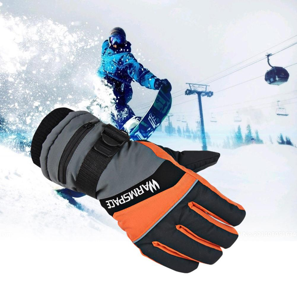 Younar Winter Electric Heated Gloves Windproof Cycling Warm Heating Skiing Gloves USB Powered Heated Bicycle Motorcycle Gloves enlarge