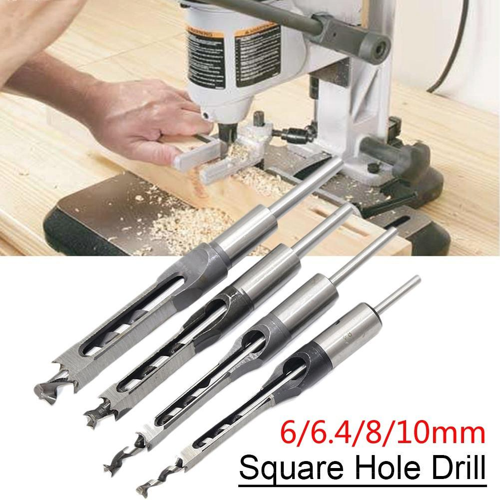 medical orthopedic instrument femur tibia intramedullary nail 4 1 cannulated hole opener quadrilateral square hollow mouth gag 6/6.4/8/10/12.7mm HSS Square Hole Drill Bit Mortising Chisels Woodworking Tool hole opener punch drill bit square hole drill