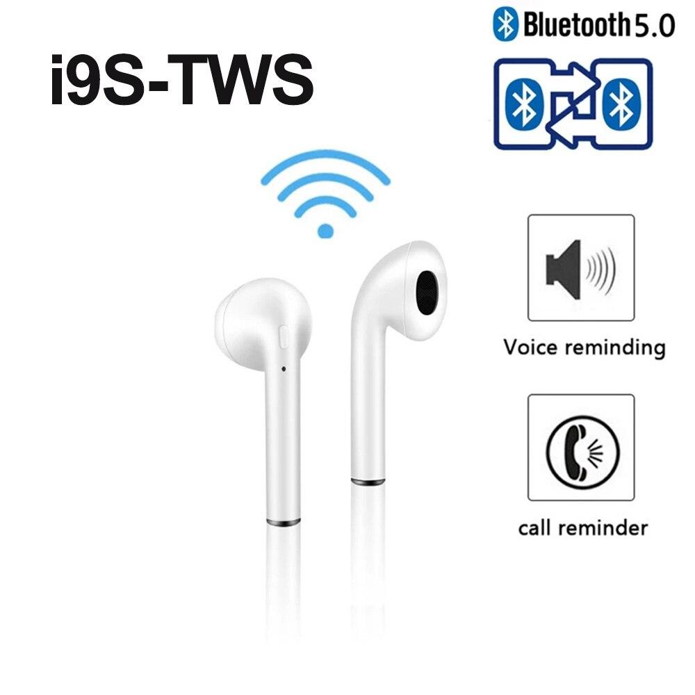 Беспроводные наушники i9 i9s TWS Bluetooth 5,0, наушники, 3D стерео звук, бас, портативные наушники, спортивные наушники PK i7 i7s
