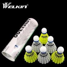 Nylon Badminton Balls Durable Light Training Ball Plastic Shuttle Cork Fonmed Head Outdoor Sports Ba