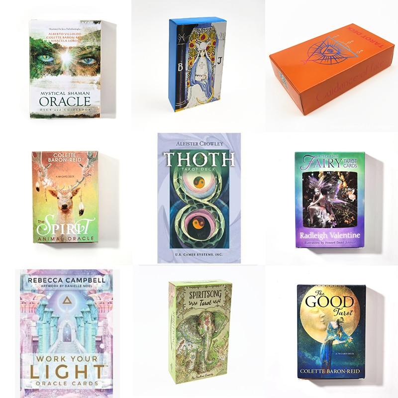 New Tarot Cards Oracle Guidance Lenormand Oracle Cards Divination Fate Tarot Deck Board Game Family Party Playing Card Game P007 недорого