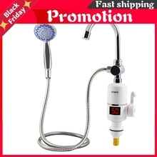 Electric Fast Instant Water Heater Tap Bathroom Heaters Instant Hot Water Shower Faucet Heating With