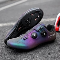high quality cleated cycling mtb shoes outdoor men road bike sneakers luminous bicycle self locking shoes man zapatillas de bici