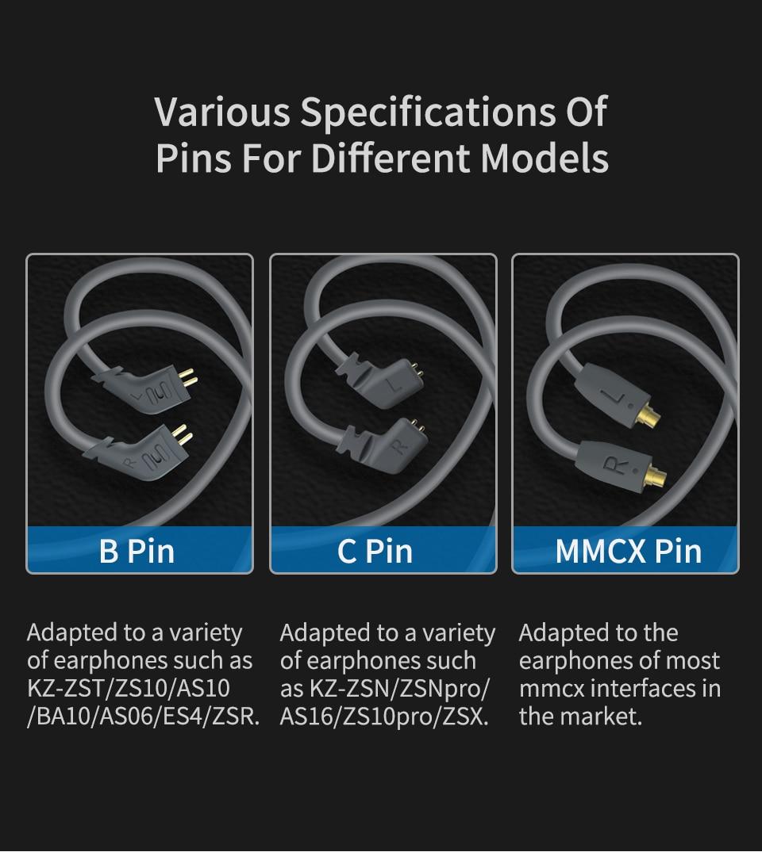 Kz Aptx Hd Qcc3034 Bluetooth5 0 Wireless Module Earphone Upgrade Cable Applies Original Headphone As10 Zst Es4 Zsn Pro Zs10 As16 Phone Earphones Headphones Aliexpress