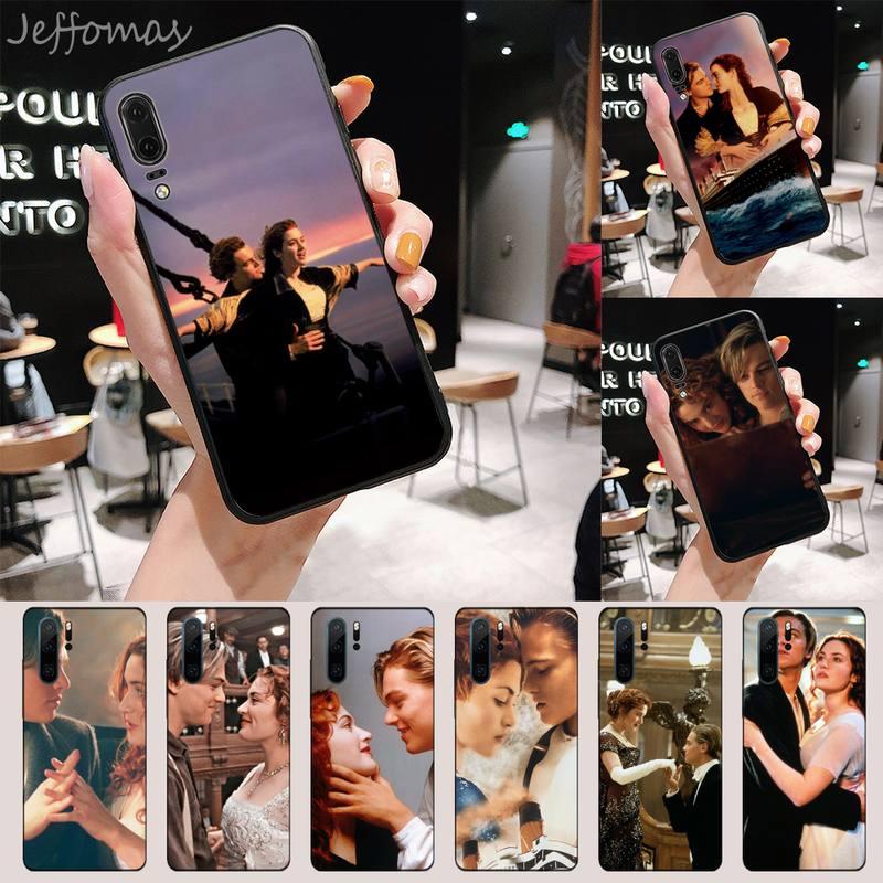 Película Titanic funda del teléfono para Huawei P 9 8 10 40 Mate 30 Honor 8 8A 20 20s 9x nova 6se 5t Y9s PSMART lite pro 2017