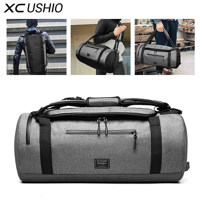 XC Gym Bag Multifunction Men's Gym Sports Bag Women Fitness Sport Bag Backpack with Shoe Compartment for Travel Yoga Training