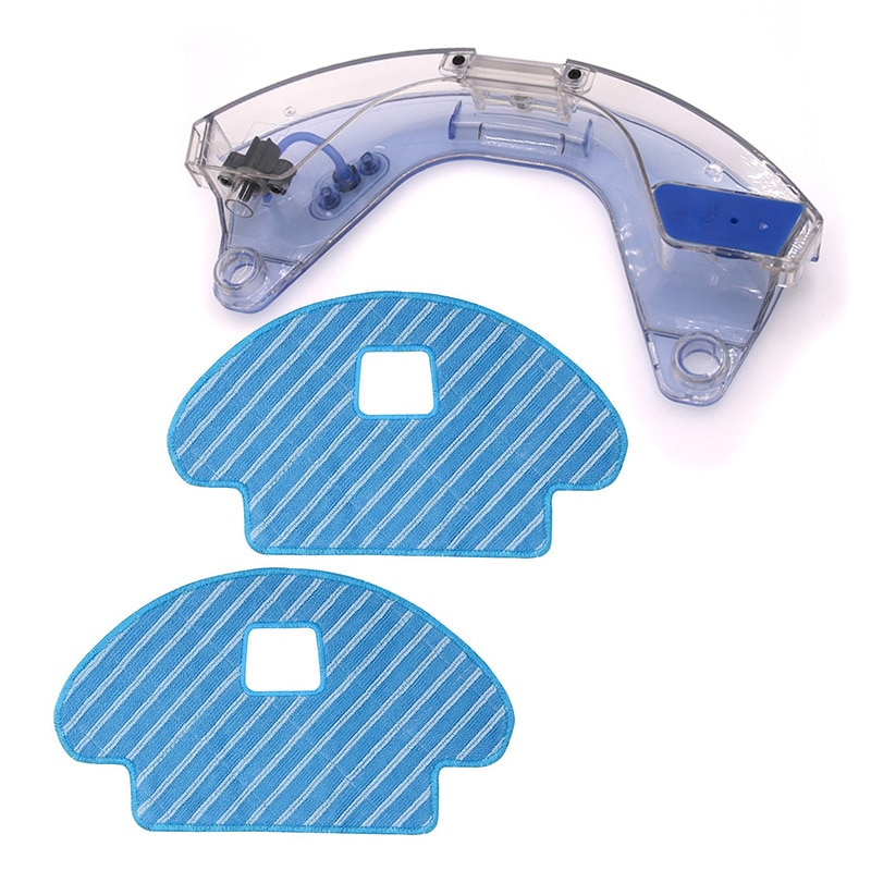 1 * tanque de agua + 2 * paño de fregona para Ecovacs Deebot Ozmo 930 DG3G piezas de aspiradora
