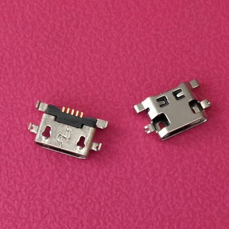 1000 piezas Micro Usb para Alcatel 7040N puerto de carga Dock Socket para Lenovo A708t S890 para Huawei G7 G7-TL00 conector de carga