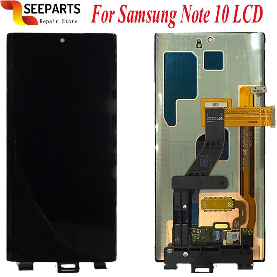 """6.3 """"Amoled pour Samsung Note 10 LCD Note10 Lcd écran tactile numériseur assemblée pour Samsung N970F N970U N970N N9700/DS lcd"""