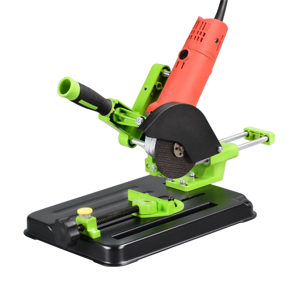 ALLSOME Angle Grinder Stand Support Fixed Holder Woodworking Tool DIY Cut Universal Bracket 100 115 125 Power Tools Accessories enlarge