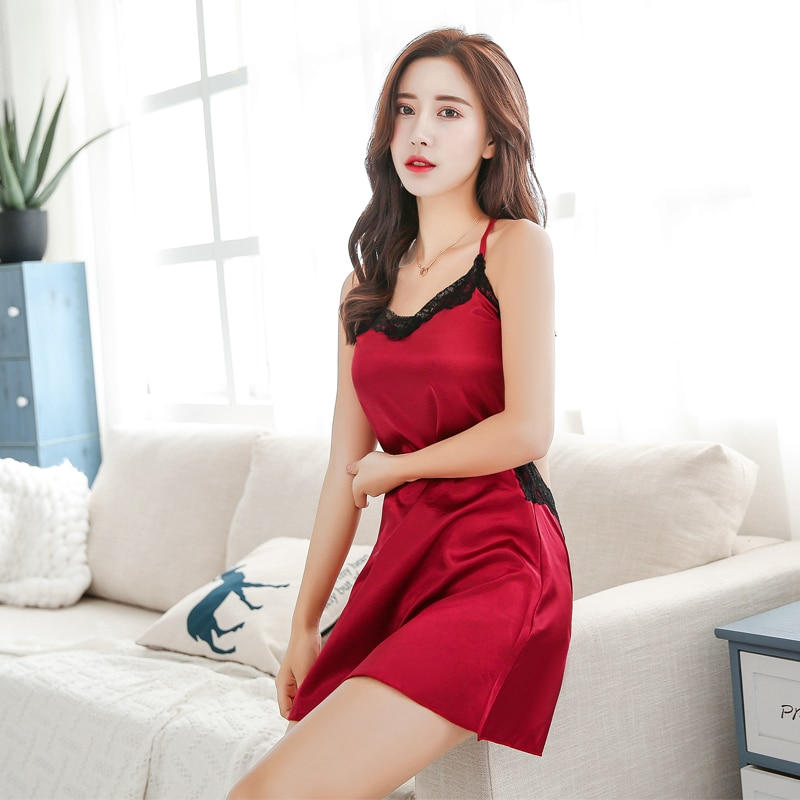 Sexy SLIP Sexy Sleepwear Sexy Hot Backless Seductive Underwear Adult Lace Sleeping SLIP Sexy lingerie Exotic Apparel WOMAN 1380