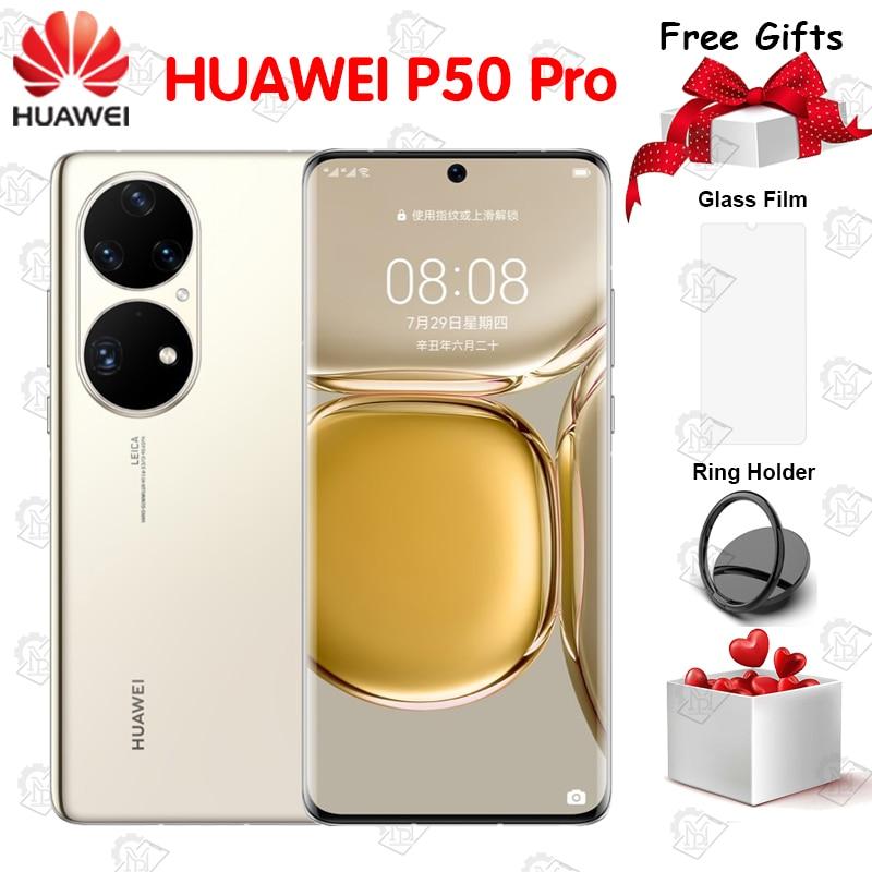 Original CN Version HUAWEI P50 Pro 4G Mobile Phone 6.6