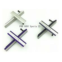 Z2 Staub Abdeckung Micro SD + SIM + USB Lade Port ist Eingesetzt In USB Für SONY Xperia Z2 Staub stecker