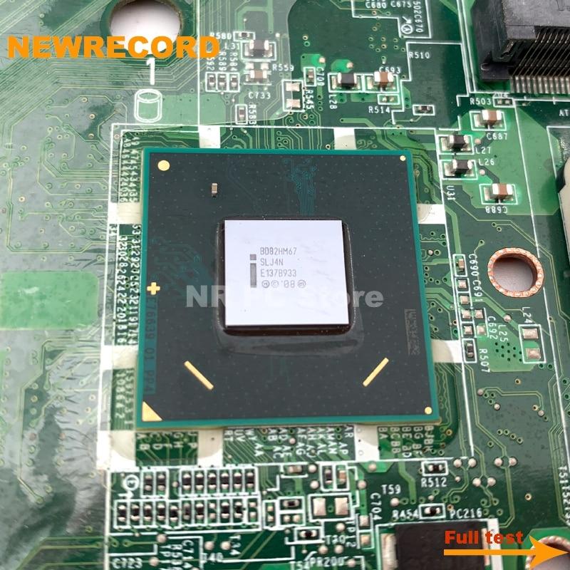 Купить с кэшбэком NEWRECORD DAGM7MB1AE1 DAGM7MB1AE0 main board for dell L702X L701X laptop motherboard GT555M 1GB GPU HM67 fully test