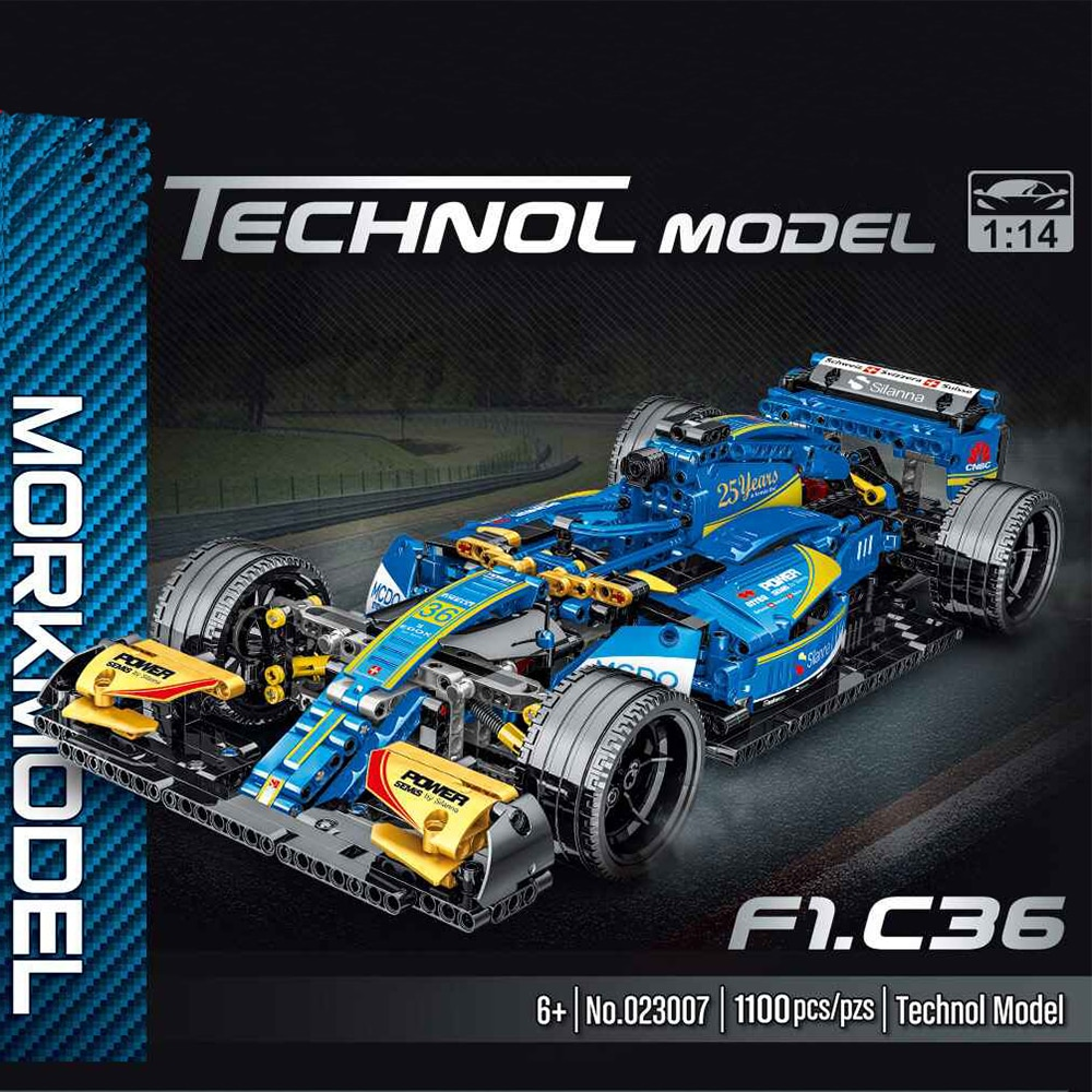 Technical Expert Super Speed Champions Car Building Blocks F1 Racing Vehicle Model Bricks  Kids Toys Car For Children Boys Gifts sembo racing car technic building blocks pull back sports car speed champions enlighten bricks toys for boys kids gifts 608pcs