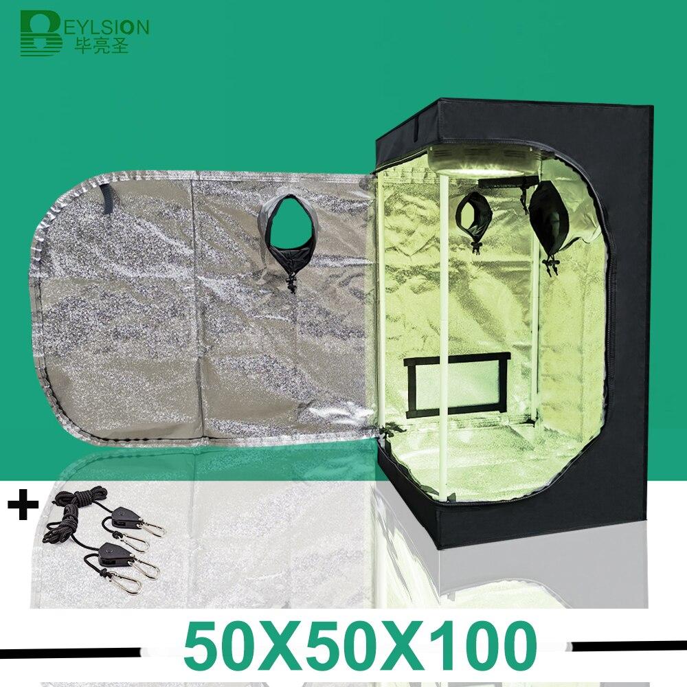 BEYLSION 50*50*100cm tienda de cultivo interior, partes de lámpara de cultivo de plantas, planta de interior, caja de tienda para cultivo hidropónico