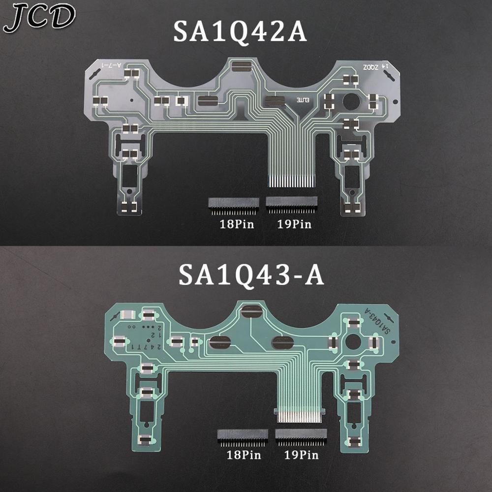 JCD для Sony PS2 SA1Q42A SA1Q43-A ленточная печатная плата пленка джойстик гибкий кабель проводящая пленка для контроллера PS2