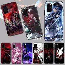 NBDRUICAI Anime Akame Ga Kill TPU Soft Silicone Phone Case Cover for Samsung S20 plus Ultra S6 S7 edge S8 S9 plus S10 5G