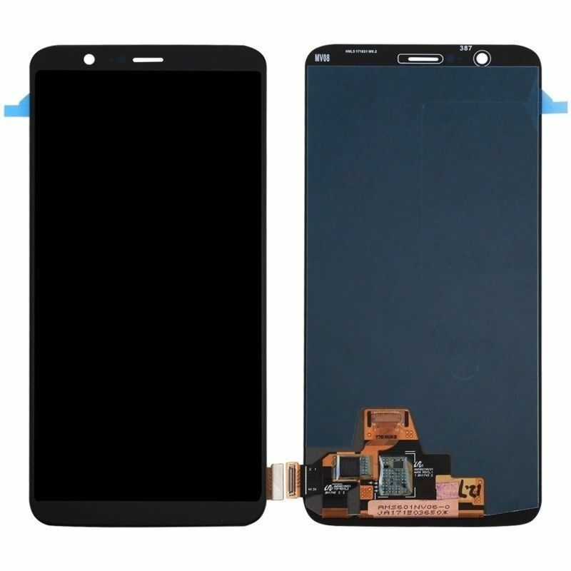 100% Tested OLED LCD For Oneplus 5T A5010 LCD Display + Touch Screen Digitizer Assembly for One Plus 5T Display with frame enlarge