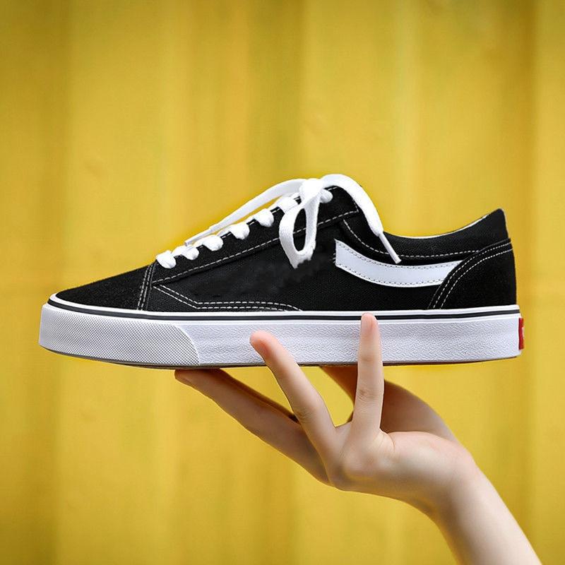 Men Vulcanized Shoes Canvas Shoes Men Women High Top Black Classic Wild Waterproof Large Size 35-44 Casual Couple Shoes 2021 New