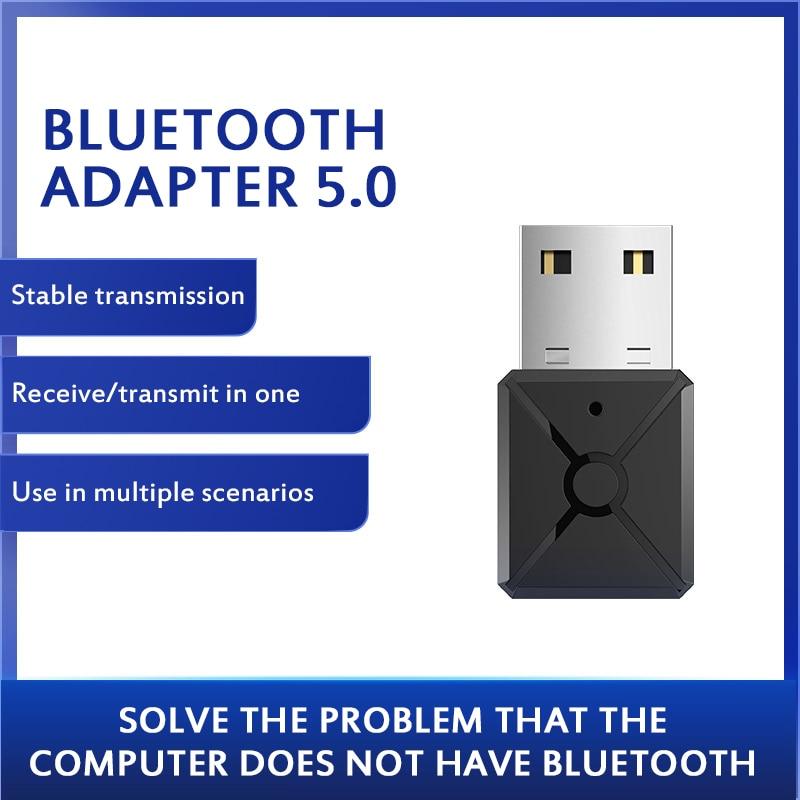 Usb bluetooth 5.0 bluetooth adaptador receptor 5.0 bluetooth dongle 5.0 adaptador para computador portátil bluthooth transmissor