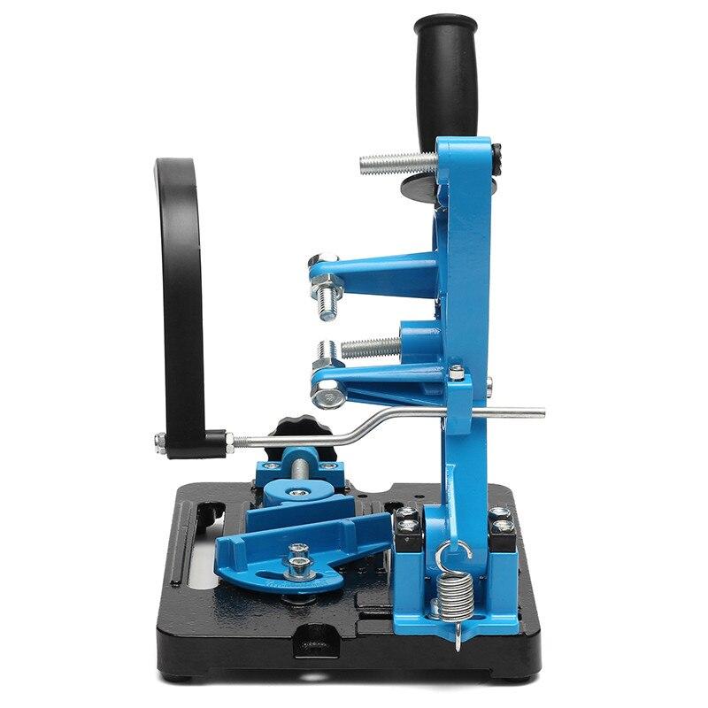Soporte para lijadora en ángulo, doble eje de rodamiento para 115-125, soporte de corte en ángulo, soporte de Base de hierro fundido