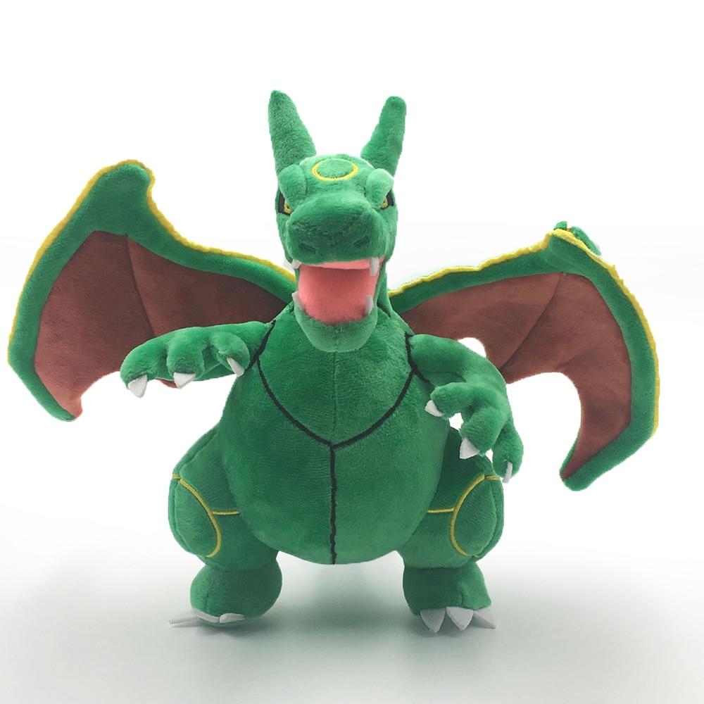 Takara Tomy Pokemon Plush Toys Rayquaza Charizard Evolution Animal Stuffed Peluche PP Cotton Christmas Gifts for Children