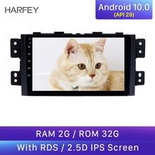 Harfey-autoradio Android 10.0   Bluetooth GPS, système de Navigation 9