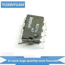 YUXINYUAN 10 PCS/LOT LM741CN LM741C LM741 LM 741CN 741 DIP8 en stock en stock