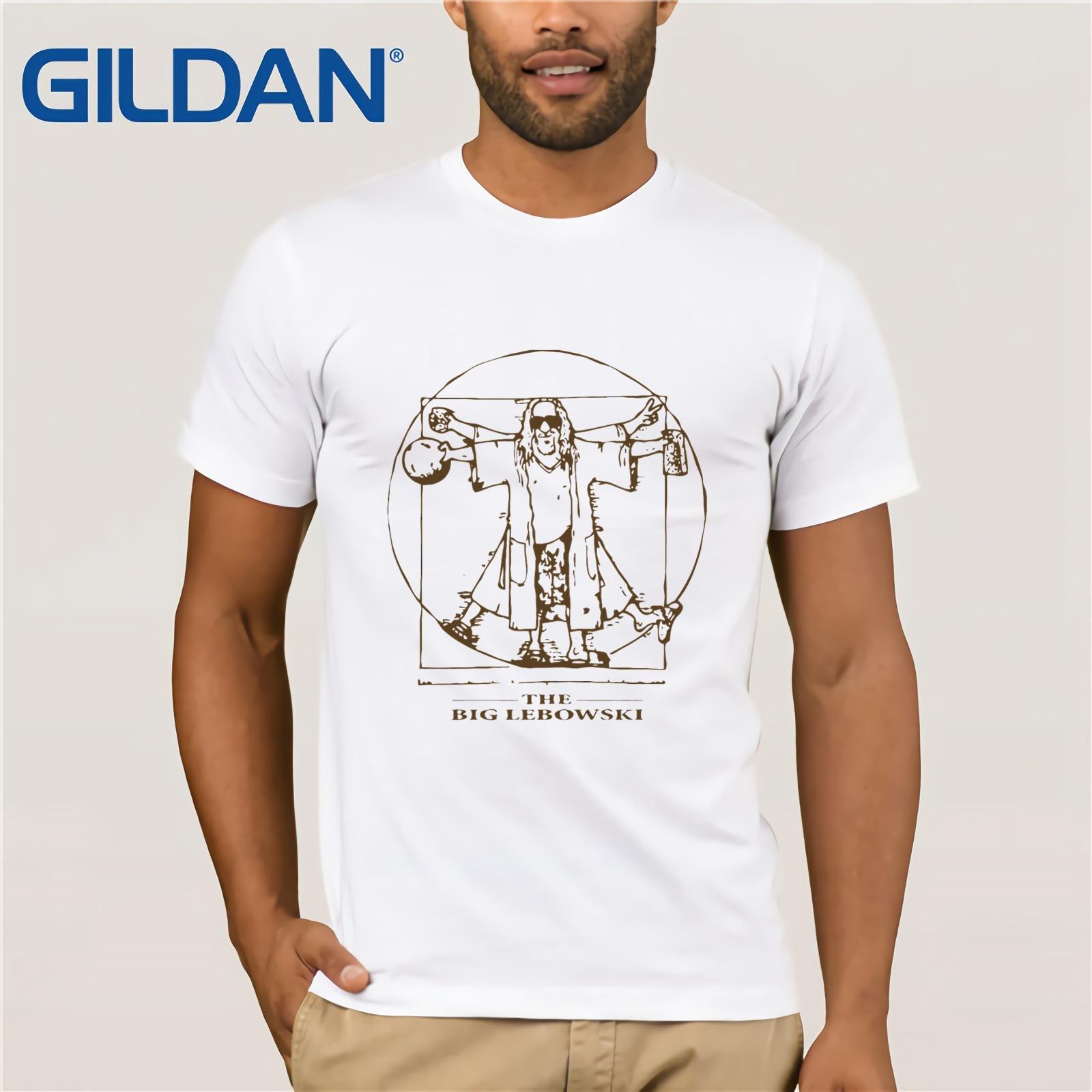 The Big Lebowski t-shirts  T Shirt Round Collar Tees Plus Size t-shirt Short Sleeve Adult 100% Cotton t-shirt