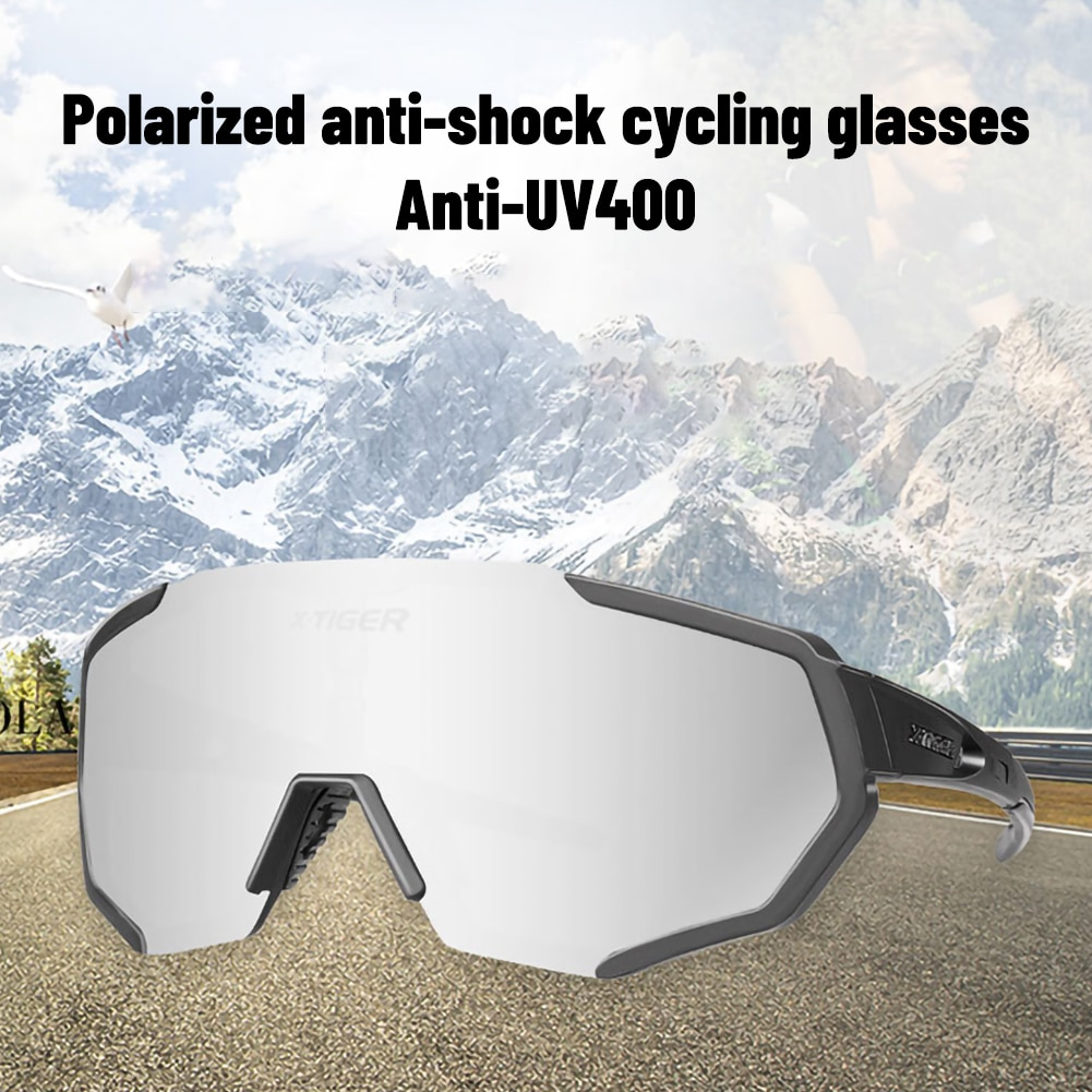 Polarized 5 Lens Riding Glasses Road Bike Riding Glasses Bicycle Sunglasses Mountain Bike Riding Goggles Outdoor Sports Shipping cycling sunglasses for men road bicycle glasses mountain riding protection polycarbonate goggles eyewear outdoor sports 2021