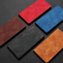 Per OPPO A9 2020 A5 2020 A11 Caso di Cuoio Magnetico Impermeabile Kickstand Custodia per OPPO A8 A91 di Vibrazione Del Basamento di Business copertura del telefono
