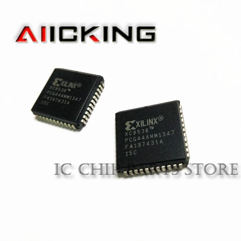 XC9536-15PCG44C 20 قطعة شحن مجاني XC9536 XC9536-15PCG44 PLCC44 جديد الأصلي في المخزون