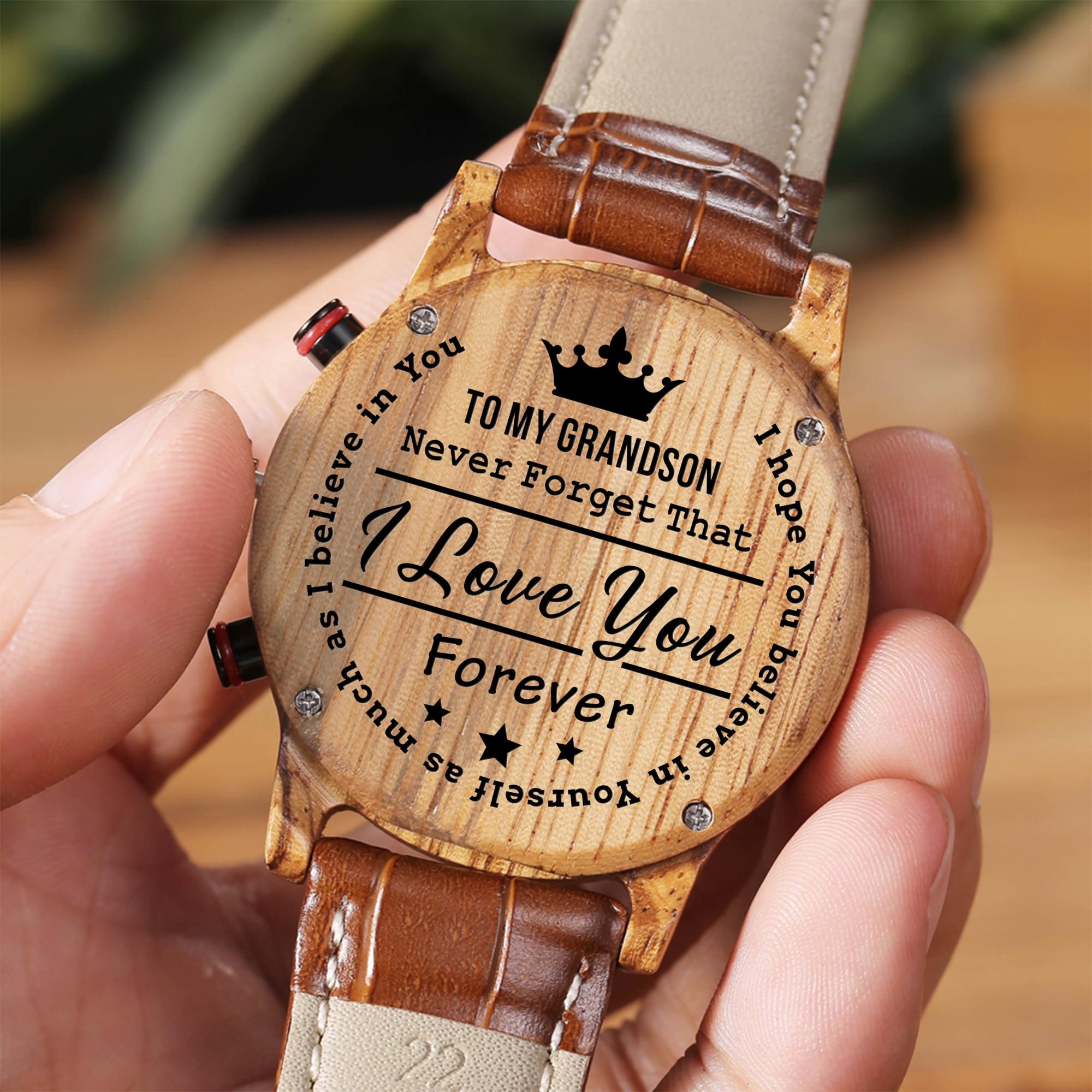 ساعة نحت فاخرة للأجد والجدة ، هدية عيد ميلاد التخرج ، الرياضة ، لأطفال
