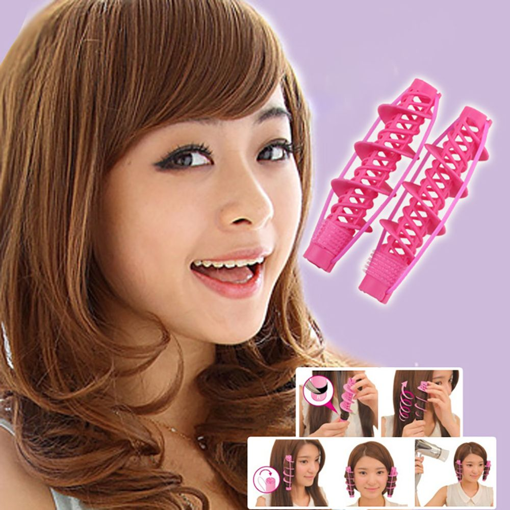 Natural Big Wave Magic Hair Roller Curler  DIY Hair Styling Perm Tools Curling Hair Maker for Fashio
