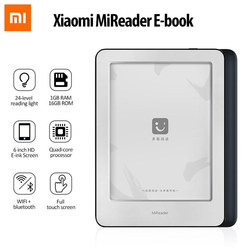 Xiaomi Mi Ebook Reader 1GB + 16GB Android HD 6-zoll WIFI bluetooth Elektronische Tinte Screen Tablet elektronische Papier E-book Typ-C