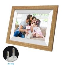 10.1 Inch Wekker 16 Gb Opslag Wifi Hd Display 1080P Gift Muziek Digitale Fotolijst Touch Screen Familie sharing Foto Video
