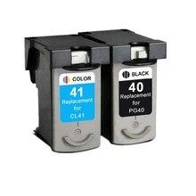 Wkłady atramentowe do PG-40 PG 40 PG40 CL-41 CL41 CL 41 Pixma iP1180 iP1200 iP1300 iP1600 iP1700 iP1880 iP2200 drukarka atramentowa