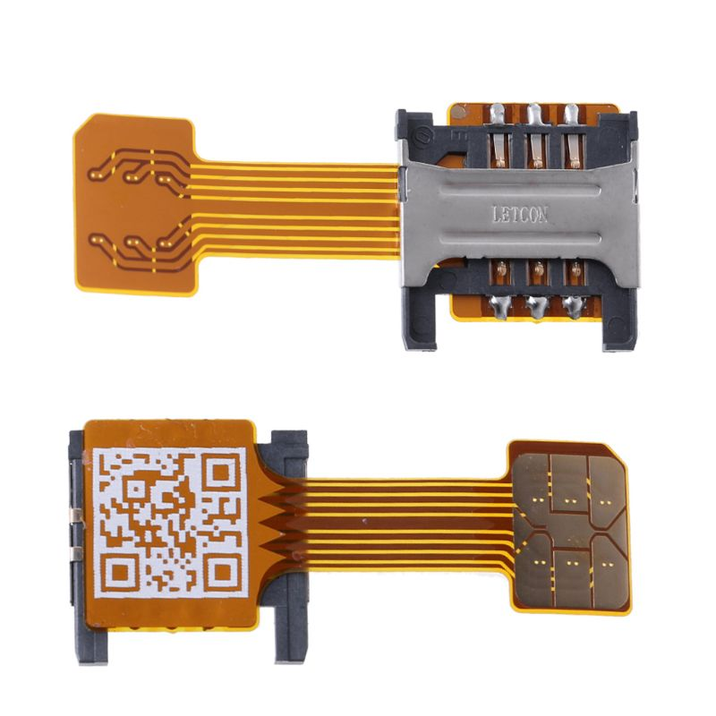 Drop Ship i hurtownia hybrydowa podwójna podwójna karta SIM Adapter Micro SD na telefon z systemem Android Extender Nano Mic Sep.26