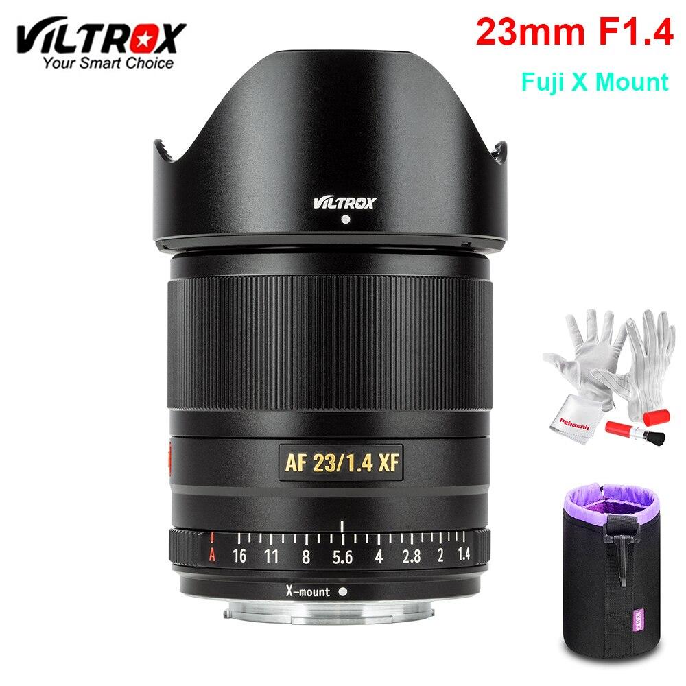 VILTROX 23 мм F1.4 XF Авто фокус Большая диафрагма объектив APS-C компактный объектив для Fujifilm X-mount камера X-T3 X20 T30 X-T20 X-T100