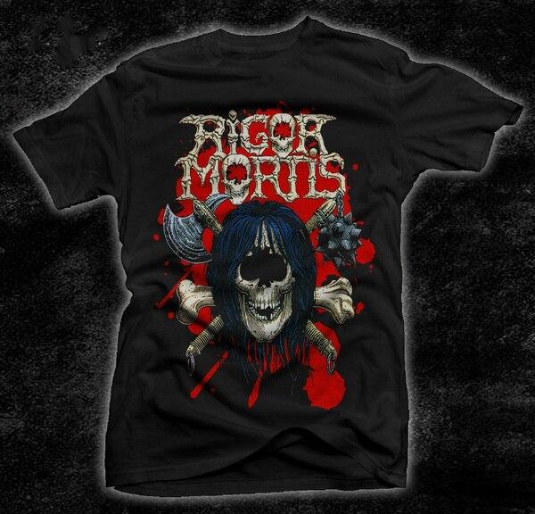 Строгостью MORTIS-RIGOR MORTIS-трэш-Warbeast футболка