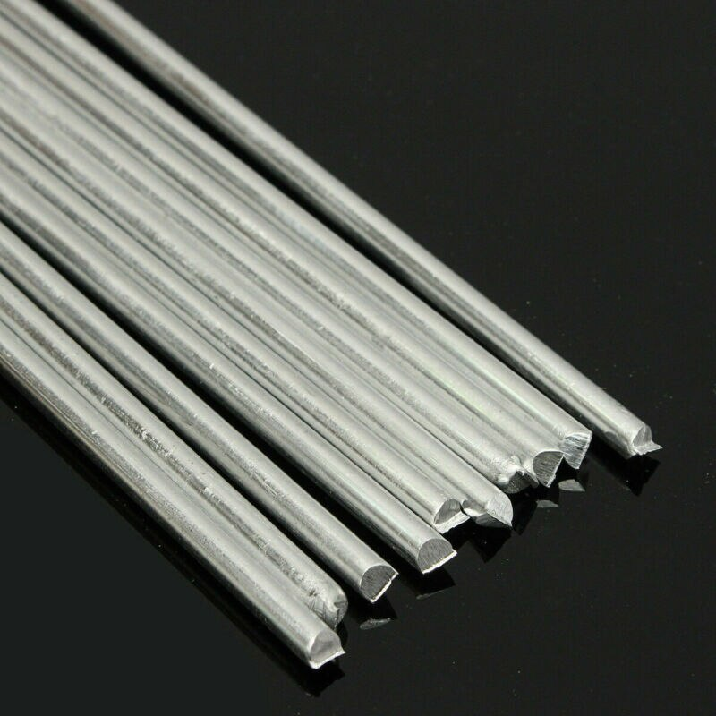 10*Aluminium Welding Rods Low Temperature Rods Aluminium Brazing Equipment Welding Accessories Electrical Tools
