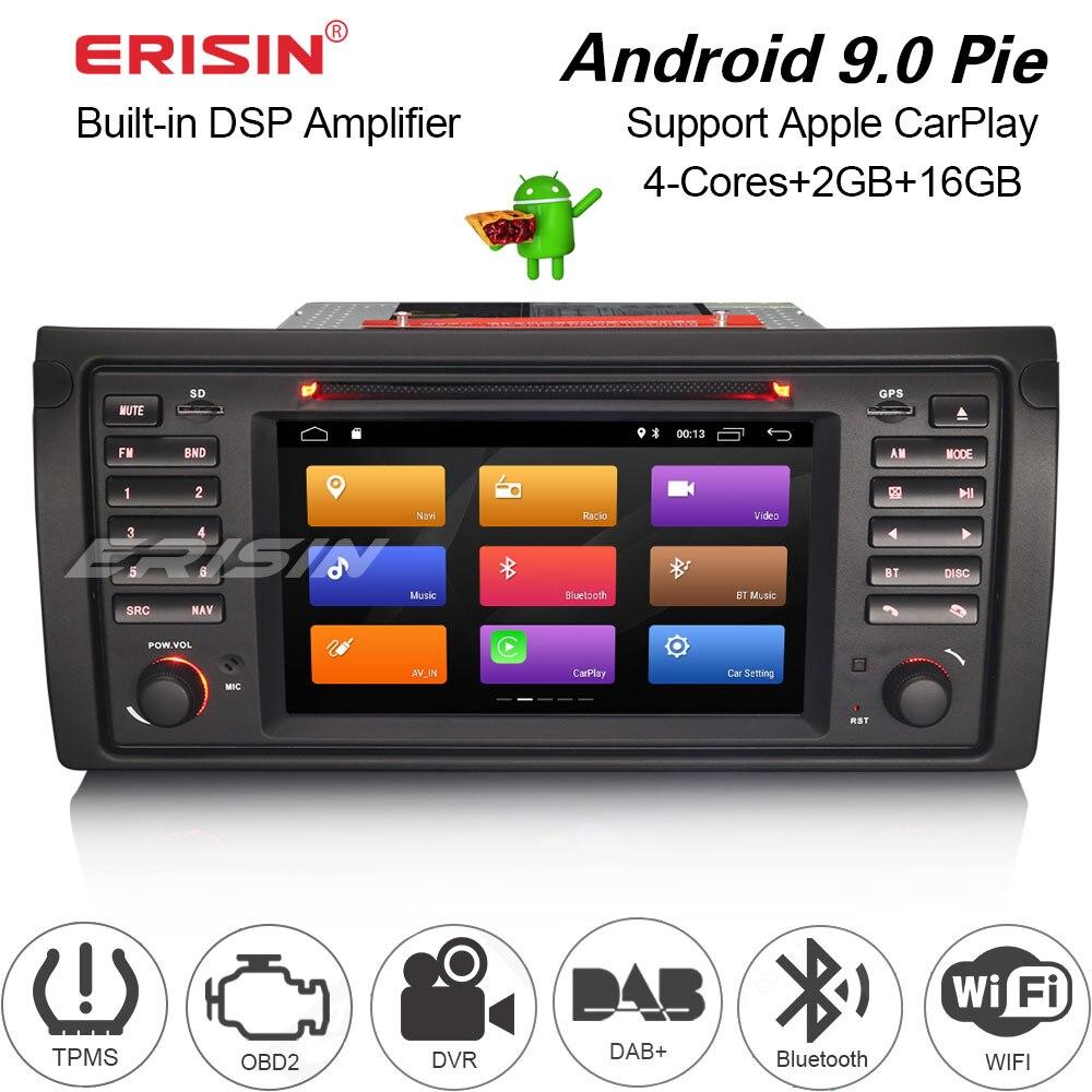 3153 Car stereo for BMW 5 Series E39 E53 X5 M5 Sat Nav Android DSP Carplay GPS Radio Autoradio Multimedia player