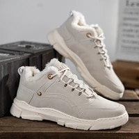 2020 winter new mens shoes trend fashion mens shoes casual shoes sneakers plus velvet warm and comfortable breathable shoes