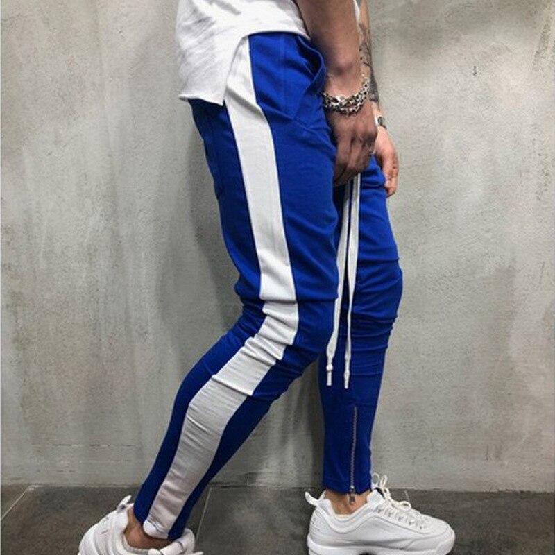 Masculino 2020 joggers outono 2020 nova edição han bordado moletom dos homens lazer cultivar a moralidade calças calças masculinas